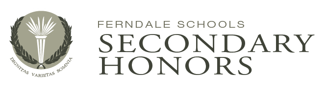 Ferndale Schools Secondary Honors