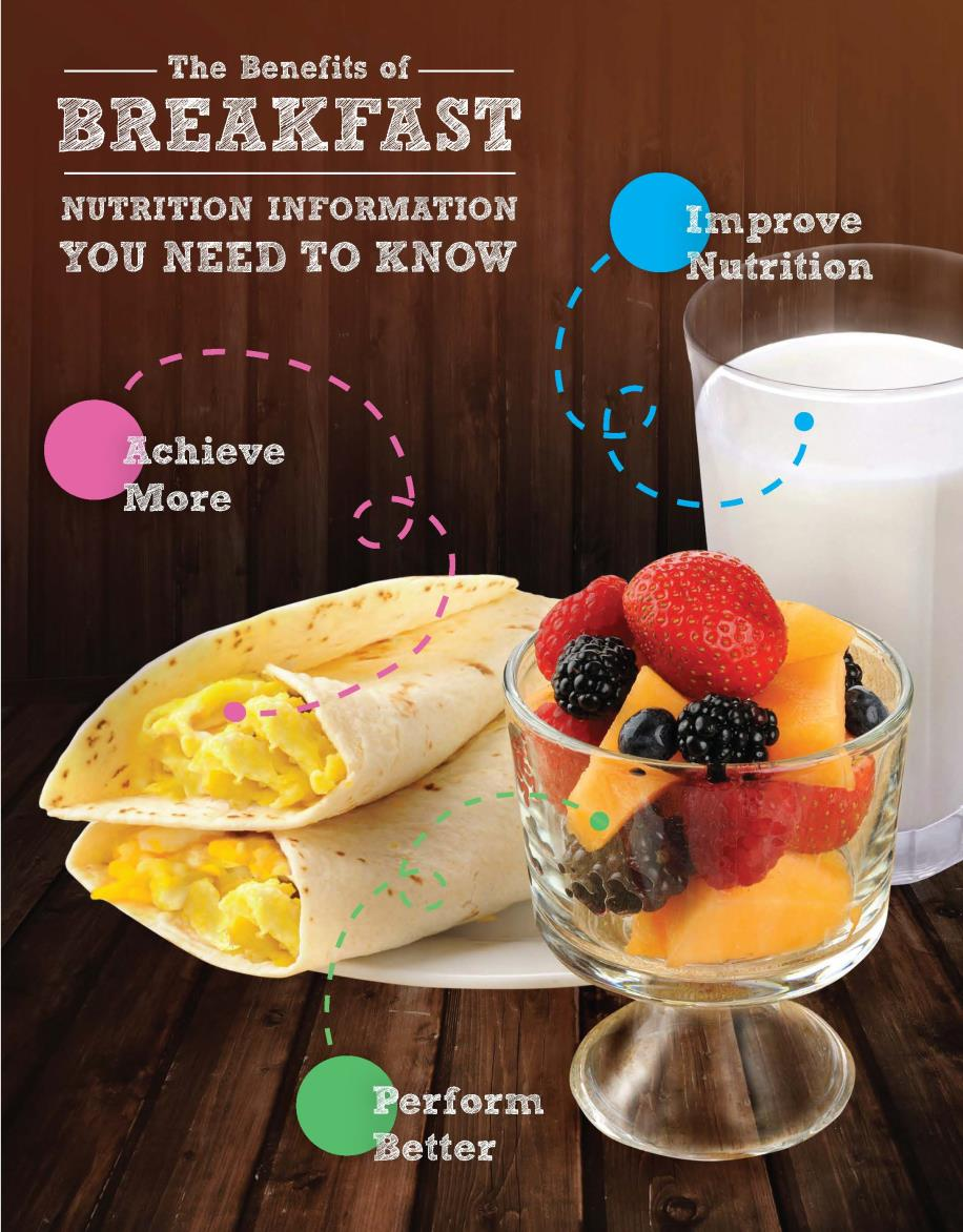 Breakfast Nutrition Flyer